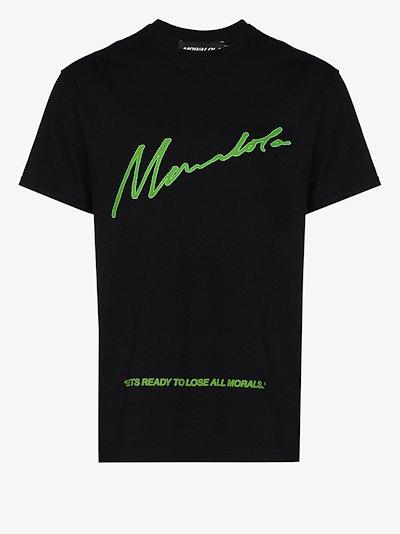 Homecoming No Morals Cotton T-shirt