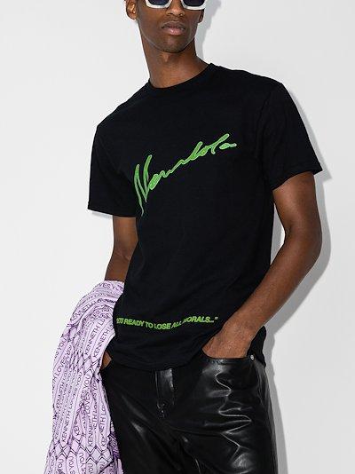 X Homecoming No Morals Cotton T-shirt