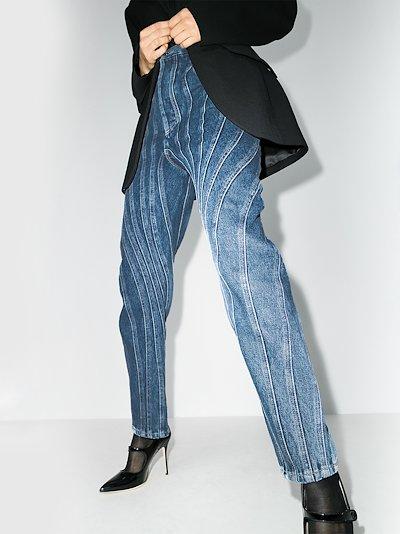 seam detail boyfriend jeans