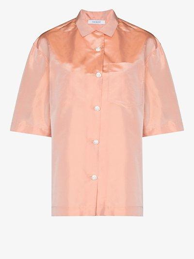 gazebo shantung silk shirt