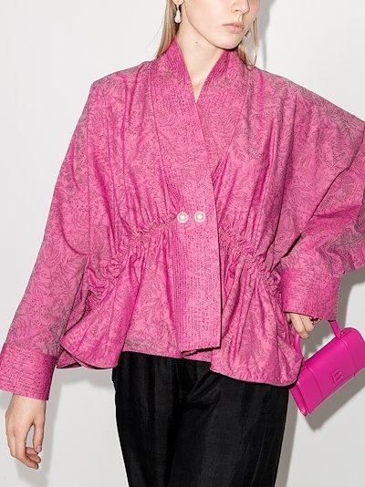 L'orient kimono cotton shirt