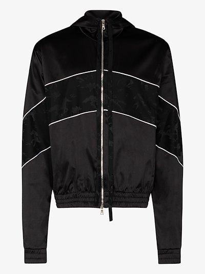 Courtside Stallion hooded track jacket
