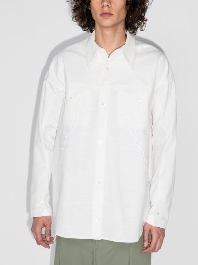 Adams western shirt