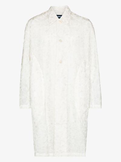 Corbis floral embellished coat