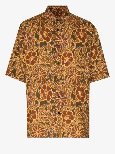 Alain printed shirt