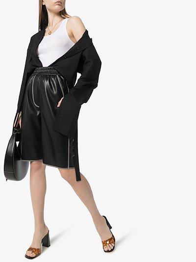 Baylee sleeveless cotton vest