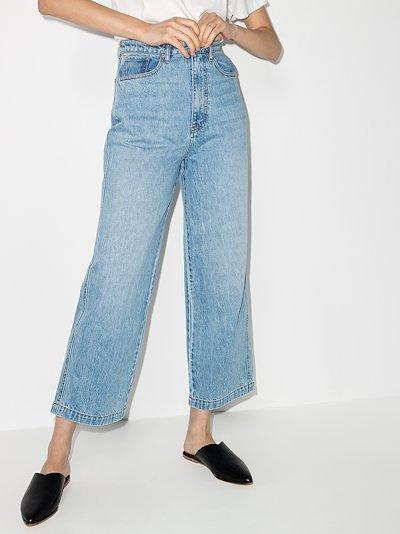 Jane straight leg cropped jeans