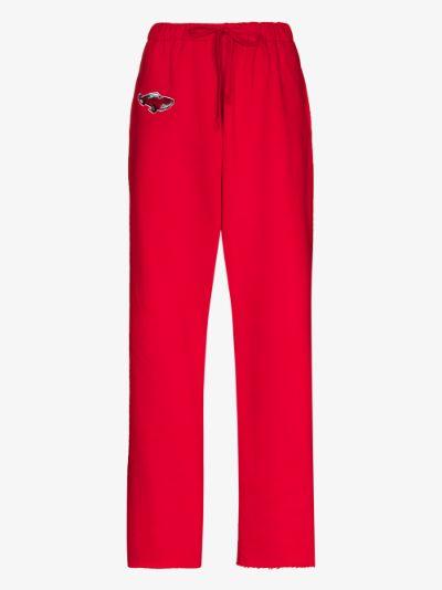Car cotton track pants