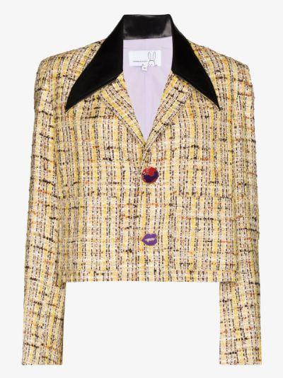 cropped tweed jacket
