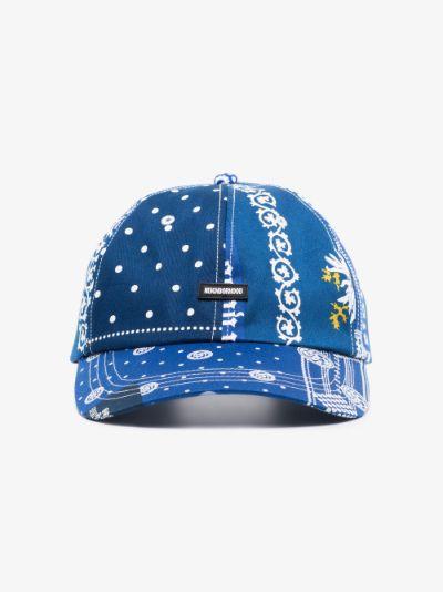 blue Dad-B printed cap