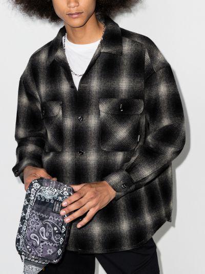 brushed plaid shirt