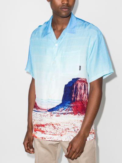 Canyon print shirt