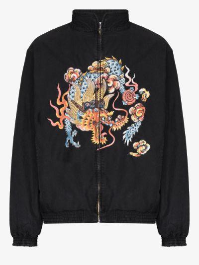 dragon souvenir bomber jacket