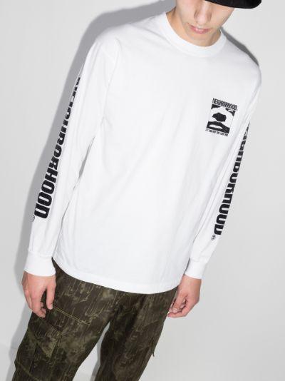 Logo Print Long Sleeve T-shirt