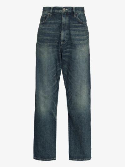 Washed DP Basic jeans