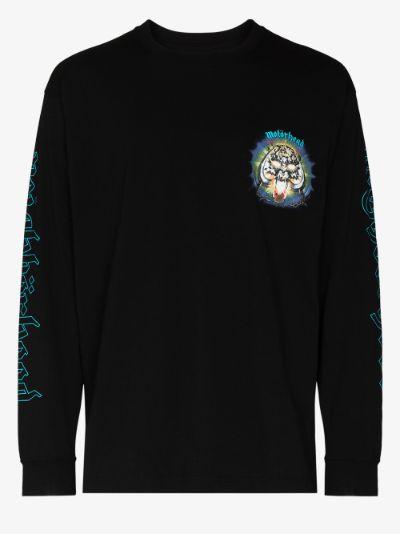 X Motörhead printed long sleeve T-shirt