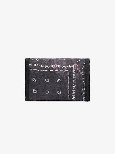 X Porter-Yoshida & Co. black bandana print wallet