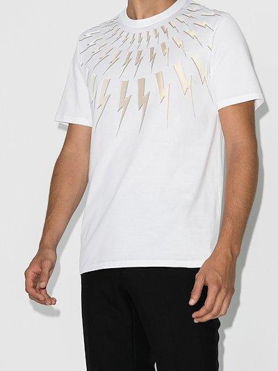 Fair-Isle Thunderbolt T-shirt