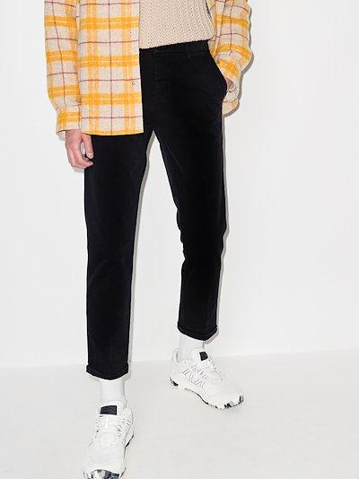 Studio regular fit trousers
