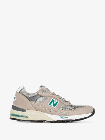 grey 991 Anniversary sneakers