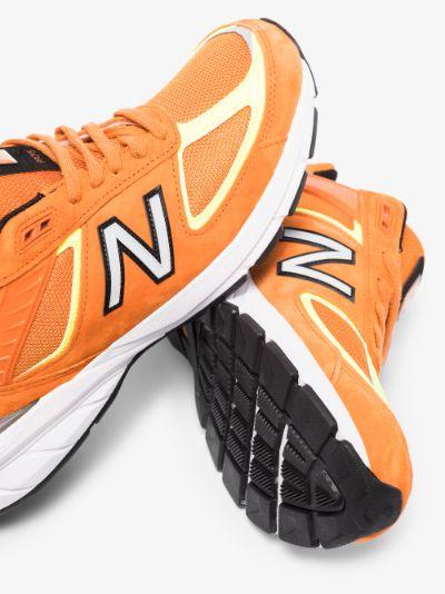 orange M990OH5 low top sneakers