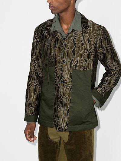 '70s Swirl Shirt Jacket
