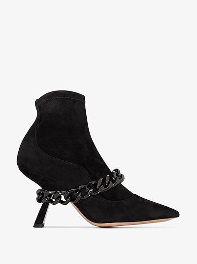 Lea 90mm chain boots