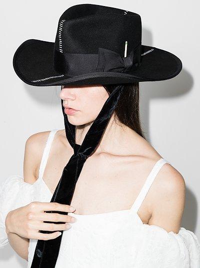 black Rive Droit felt hat