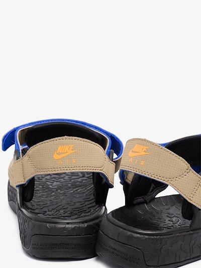 beige and black ACG Air Deschutz sandals