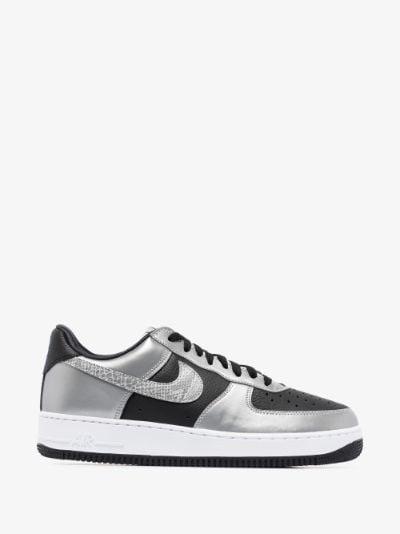 Black Air Force 1 B sneakers