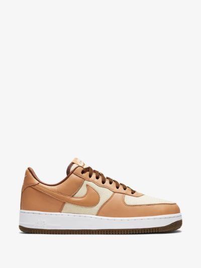neutral Air Force 1 QS sneakers
