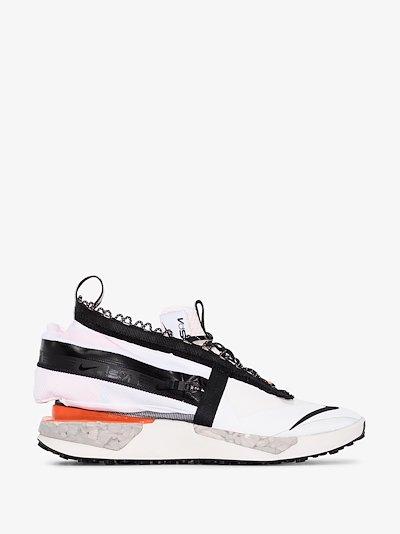 white ISPA drifter gator sneakers