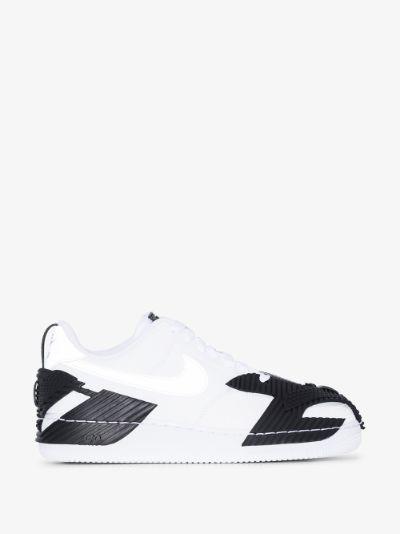 White NDSTRKT Air Force 1 sneakers