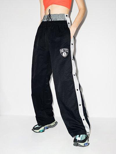 X AMBUSH Brooklyn Nets tear-away track pants