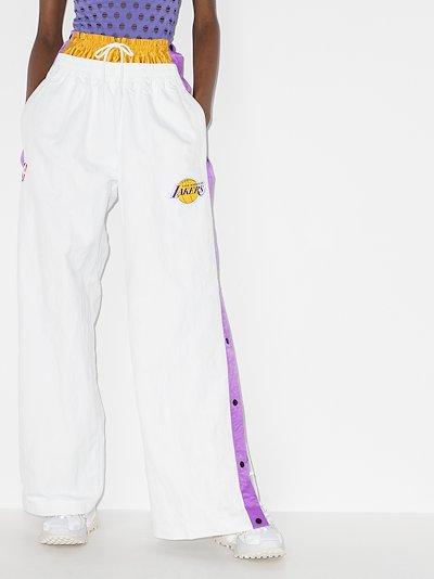 X Ambush LA Lakers tearaway trousers