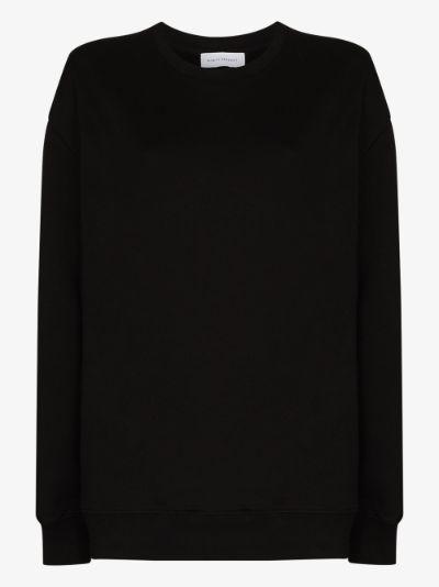 oversized organic cotton sweatshirt