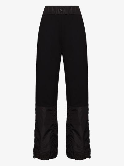 oversized pocket detail track pants