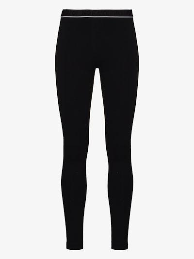 true logo waistband leggings