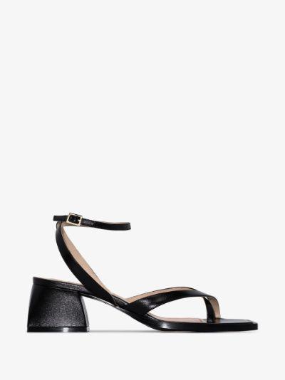 black Bulla Arushi 60 leather sandals