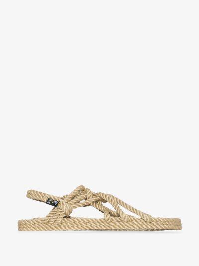 neutral JC rope sandals