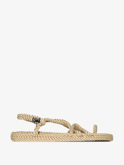 Neutral toe joe rope sandals