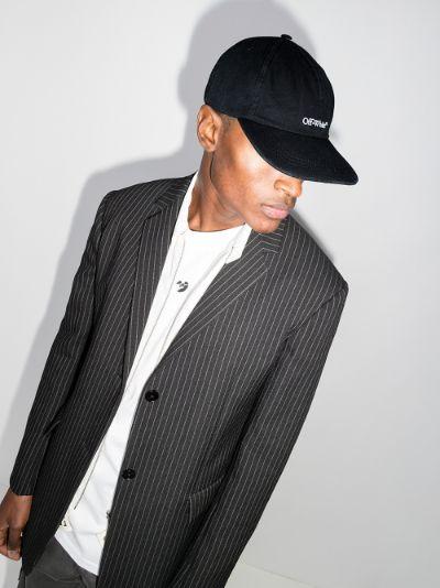 black bookish baseball cap