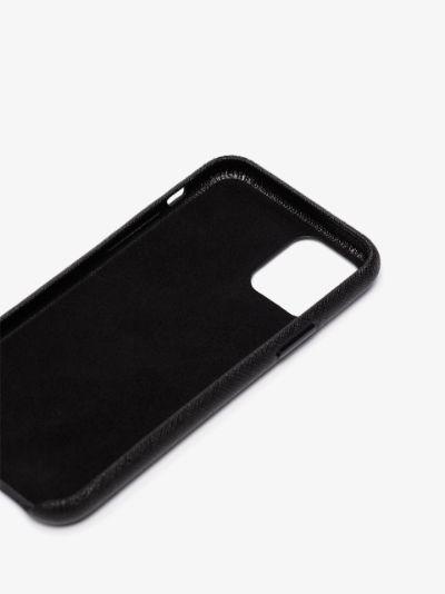 black logo iPhone 11 Pro case