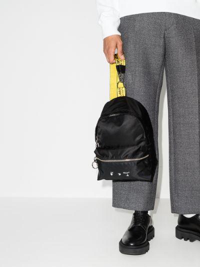black mini backpack