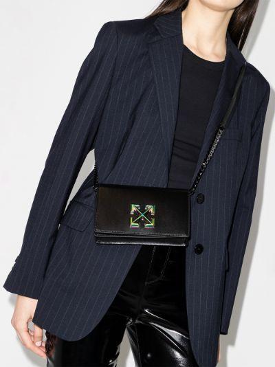 Black Twist Jitney 0.5 shoulder bag