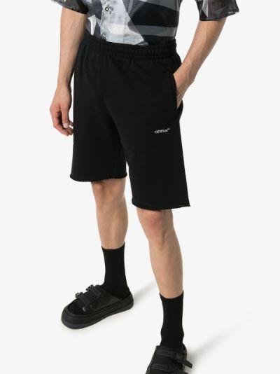 Caravaggio arrows cotton track shorts