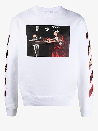 Caravaggio painting sweatshirt