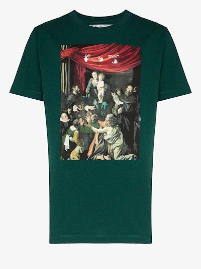 Caravaggio print T-shirt
