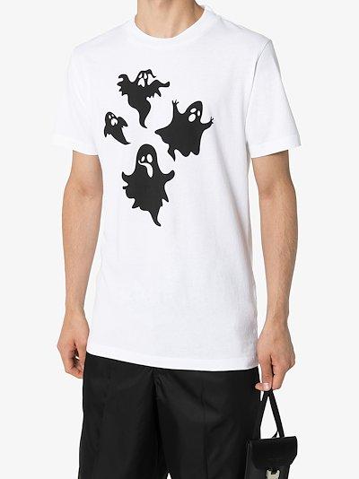 Ghost print T-shirt