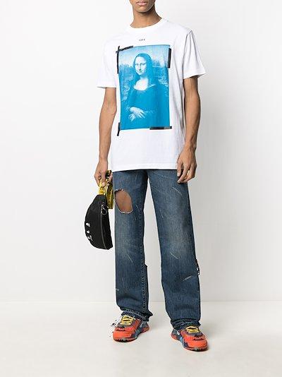 Mona Lisa print T-shirt